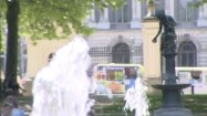 Fontanna w Parku Brukselskim