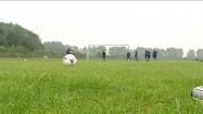 Trening piłki nożnej - podawanie piłki