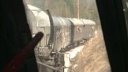Jadący pociąg