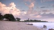 Plaża na Kubie nad Morzem Karaibskim