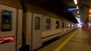 Wjazd pociągu na stację