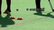 Trening hokeja na trawie