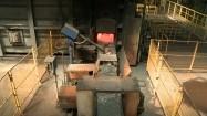 Produkcja w hucie - rozgrzany metal