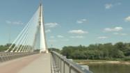 Most Świętokrzyski i Wisła w Warszawie