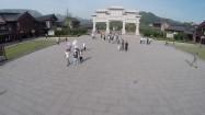 Kompleks klasztoru Szaolin - brama światynna