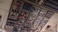 Urządzenia pokładowe samolotu - panel górny