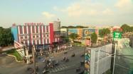 Ruch uliczny w Ho Chi Minh w Wietnamie