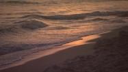 Wchód słońca nad morzem