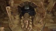Drewniana stajenka