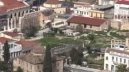 Ruiny rzymskiej agory w Atenach