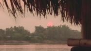 Zachód słońca w Tajlandii