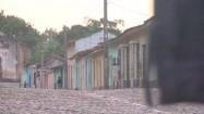 Kolorowe budynki w Trinidadzie na Kubie