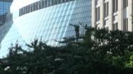 Przeszklony budynek w Chicago