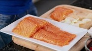 Filety z łososia