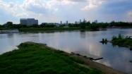 Nadwiślański brzeg w Warszawie