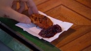 Grillowany oscypek z żurawiną