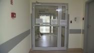 Wejście na oddział szpitalny