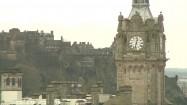 Wieża hotelu Balmoral w Edynburgu