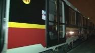Transport wagonów metra
