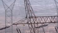 Elektrownia Dolna Odra - słupy wysokiego napięcia