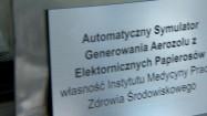 Automatyczny Symulator Generowania Aerozolu z Elektronicznych Papierosów