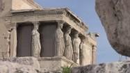 Kariatydy - fragment świątyni Erechtejon na Akropolu