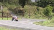Kostaryka - przejeżdżające ciężarówki