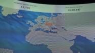 Multimedialna mapa pokazująca Polskę