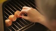 Pieczenie skorupek jajek