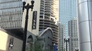 Hotel przy Marina City w Chicago