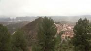 Walencja - miasteczko Jalance i elektrownia Cofrentes