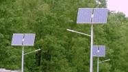 Latarnie z panelami słonecznymi