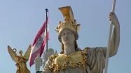 Pomnik Ateny przed parlamentem w Wiedniu