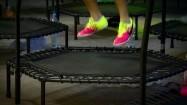 Fitness na trampolinie