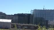 Przeszklone budynki