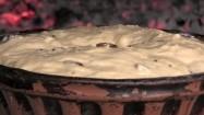 Ciasto drożdżowe w piecu