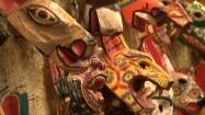 Kolorowe maski zwierząt