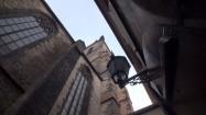 Kościół Najświętszej Marii Panny przed Tynem w Pradze - widok z boku