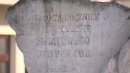 Kamień upamiętniający wpisanie kopani soli w Wieliczce na listę UNESCO