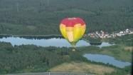Balon w locie