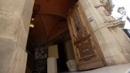 Wejście do Palazzo Spadaro w Scicli