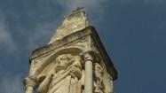 Kolumna przed amfiteatrem w Weronie