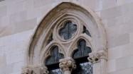Okno w Pałacu Rektorów w Dubrowniku