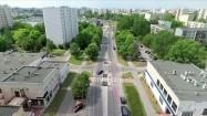 Ruch uliczny na osiedlu