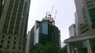 Zabudowania w centrum Singapuru