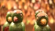 Kolorowe figurki ptaków