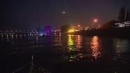 Kolorowa noc w Warszawie
