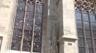 Witraże katedry św. Szczepana w Wiedniu