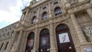 Fasada Muzeum Historii Sztuki w Wiedniu