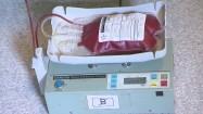 Kołyska laboratoryjna do mieszania krwi